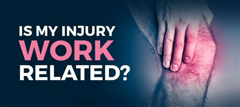 Is My Injury Work Related?