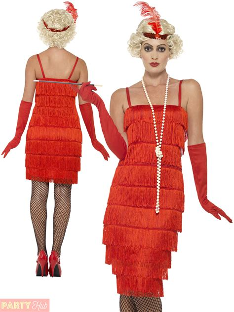 clothing shoes accessories costumes womens costumes ladies 1920s flapper costume adults gatsby fancy dress