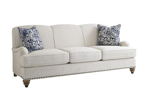 bassett couches and sofas bassett living room sofa 2622 62 lenoir empire furniture
