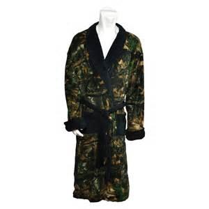 Camouflage Bathroom Sets Men S Highland Timber Fleece Robe Black Just Camo