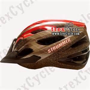 Helm Sepeda Strummer trexcycle indonesia toko aksesoris sepeda bicycle helmet strummer for untuk sepeda mtb