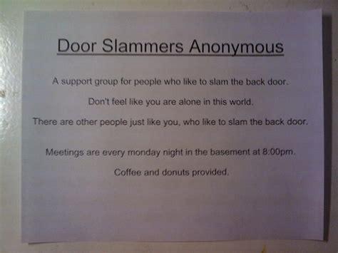 Apartment Door Slammers The Club Vs Door Slammers Anonymous