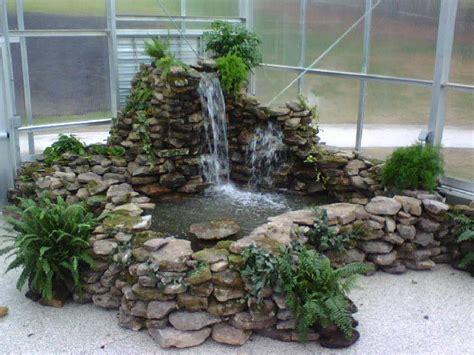 indoor pond indoor waterfall garden watergardens and ponds aquatic