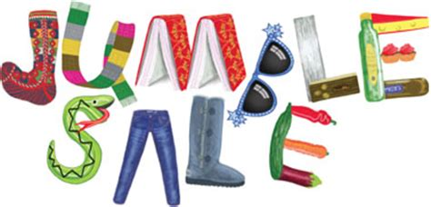 Printable Letters Jumble Sale At Sandford St Martin S Primary