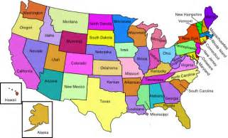 United states map with states clip art at clker com vector clip art