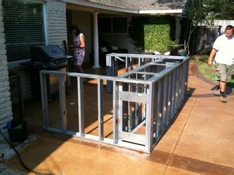 Backyard Bbq Dallas by Grill Construction Projects C Saw Residential