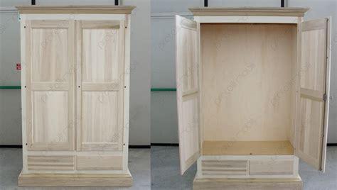come fare un armadio in legno pratelli mobili armadio in legno grezzo per la cameretta