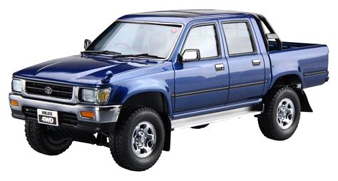 toyota 4wd models aoshima 52280 1 24 toyota ln107 94 hilux cab