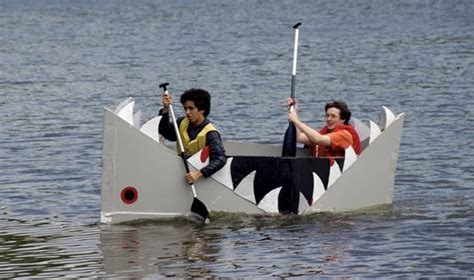 cardboard boat tutorial best 20 cardboard box boats ideas on pinterest aquarium