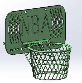 desk basketball hoop desk basketball hoop 3d model 3d printable stl cgtrader