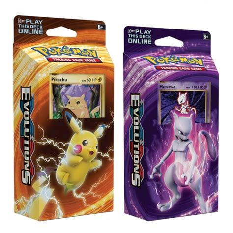 cheap theme decks theme deck set of two xy evolutions