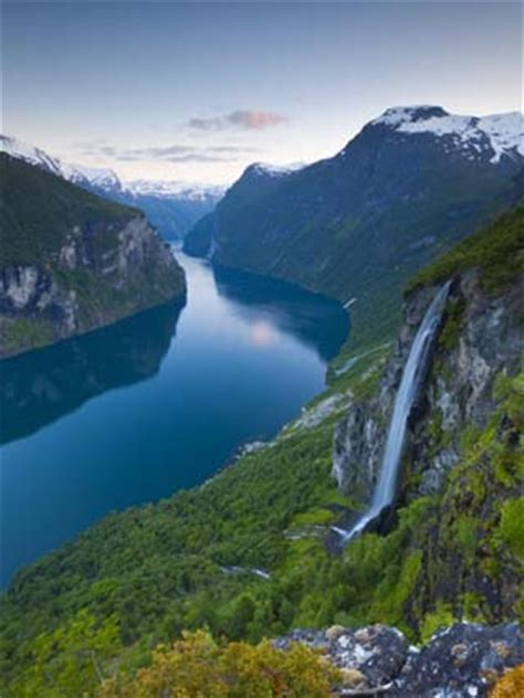fjord definition geography geography of norway landforms glaciers fjords world atlas