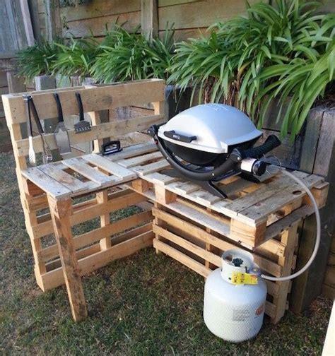 agréable Lampes Solaires Pour Jardin #2: barbecue-weber-pas-cher-salon-de-jardin-palette-1-e1476355690861.jpg
