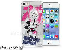 Headset Mickey Mouse By M A C iphone 5 5s disney mickey mouse splash ink transparent