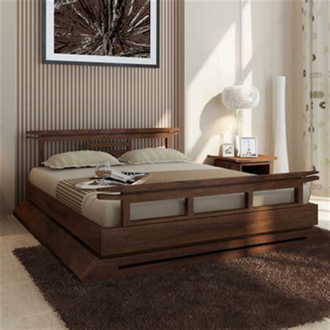 asian bed kondo platform bed tansu asian furniture boutique