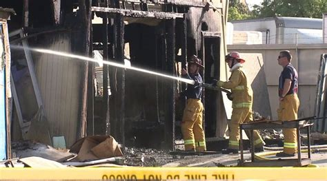cabinet shop spray booth employee severely burned in spray booth fox5 san