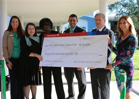 Closet Bank Of America by Bank Of America Charitable Foundation Donates 45 000 To