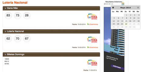 loteria nacional resultados de hoy resultados sorteos anteriores leidsa loto real loteka