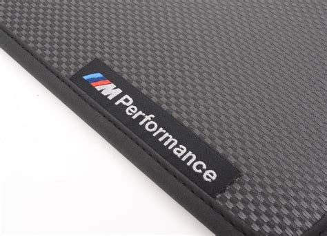 bmw 5 series f10 f11 m performance front floor mats