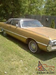 1969 Chrysler Newport Convertible For Sale 1969 Chrysler Newport Custom Hardtop 2 Door 7 2l