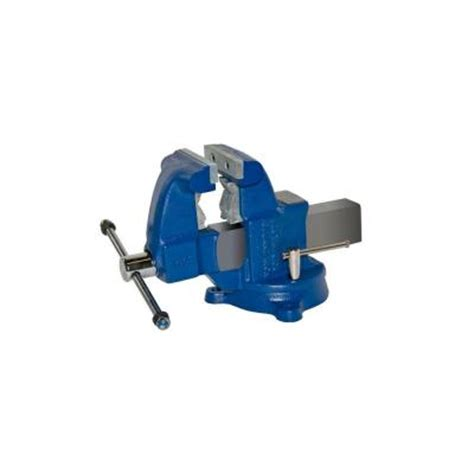 bench vise home depot yost 4 1 2 in medium duty tradesman combination pipe and