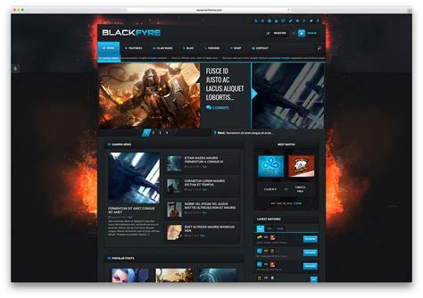 best gaming templates best buddypress themes for community 2017