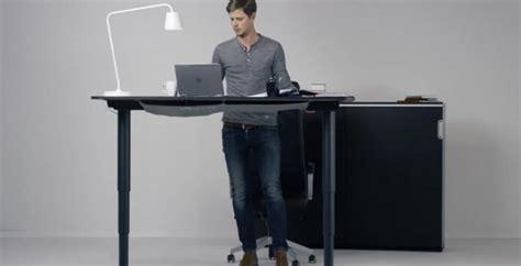 Wordlesstech Ikea Height Adjustable Desk Standing Height Desk Ikea