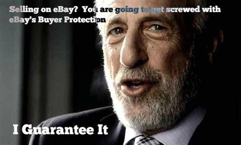 Mens Warehouse Meme - ebay no seller protection