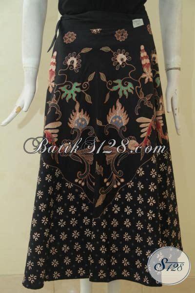Rok Lilit Songket Keren rok batik modis model lilit berpadu kombinasi dua motif yang keren banget baju bawahan batik