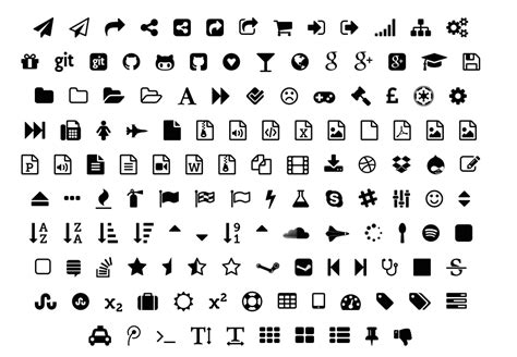 design icon in font awesome fontawesome icons for keynote and powerpoint keynotopia