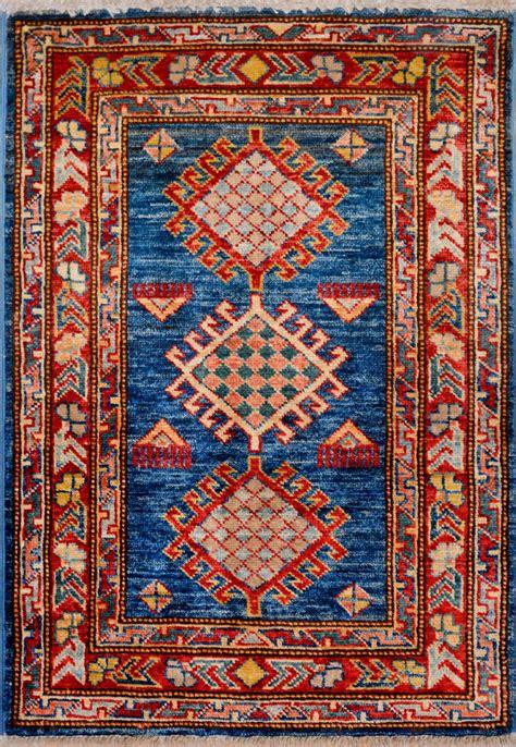 1 x 2 ft rug blue kazak rug 1 11 quot x 2 9 quot ft no 11535