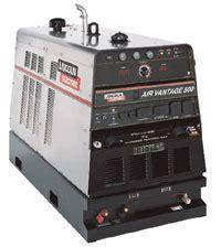 lincoln electric air vantage 500 welder generator air compressor