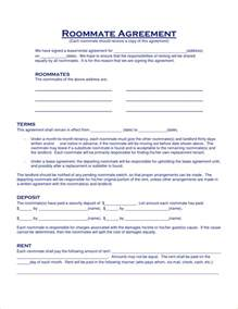 roommate rental agreement template 8 roommate contract template timeline template