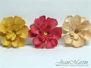Paper Flowers Handmade - stin scrapper handmade paper flowers