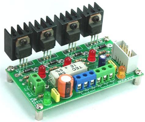 transistor driver stepper motor 4 channel transistor based output driver for unipolar stepper motor driver and relay solenoid