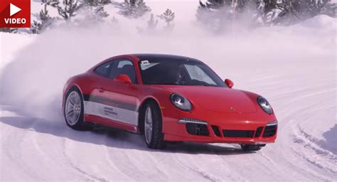 Winter Porsche Porsche C4 Canada Looks Like Our Of Winter Sport