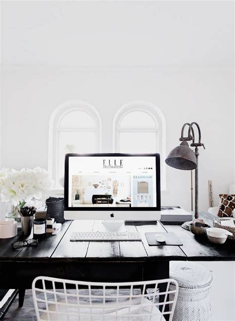 Black And White Desk Chair Design Ideas Stay Via Image 2391368 By Lauralai On Favim
