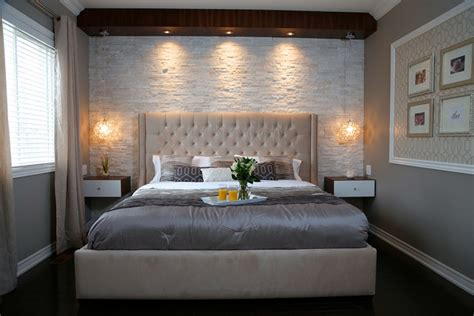 stone master bedroom modern bedroom toronto by