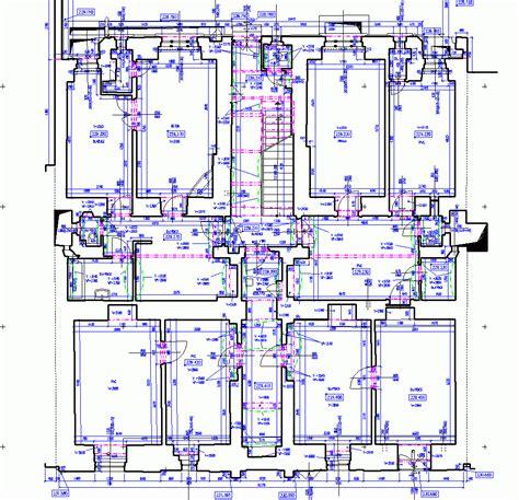 Apartment Building Floor Plans Agm Architekturvermessung Und Geod 228 Tische Messung