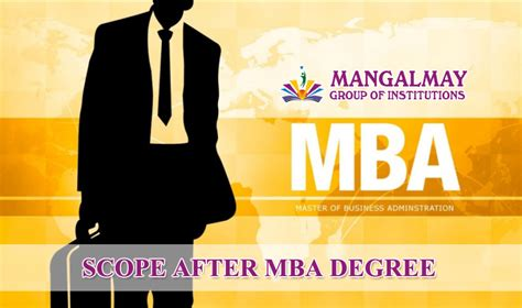 Scope After Mba In International Business by Scope After Mba Degree Mangalmay Of Institutions