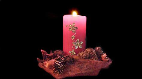 manualidades con velas para navidad