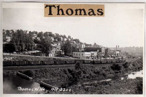 railroad history thomas west virginia historic thomas