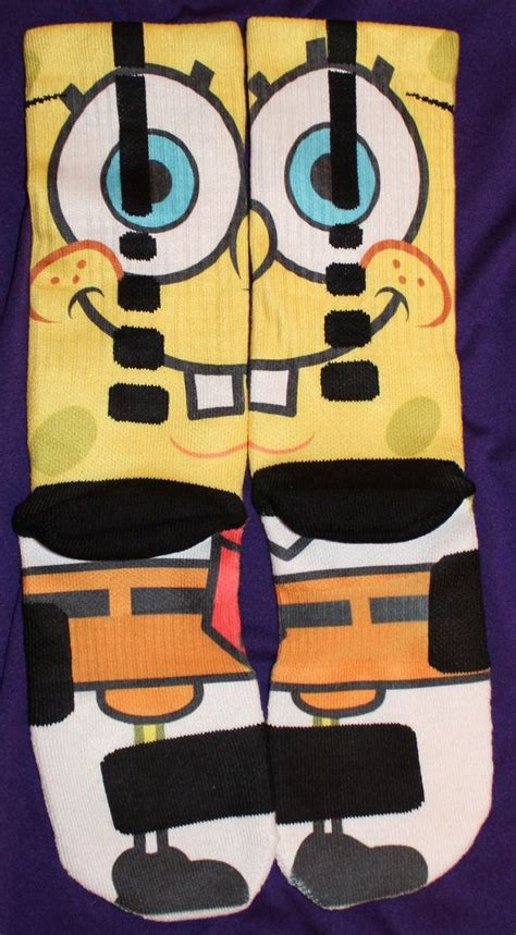 spongebob basketball shoes 53 best images about socks on spongebob