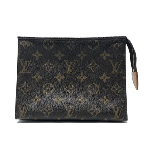 louis vuitton monogram toiletry pouch  cosmetic bag