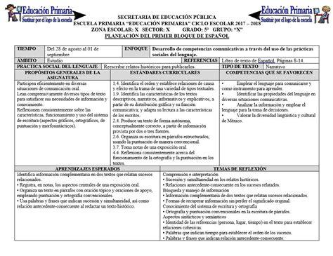 descargar bloque 4 de 5to grado de primaria 2015 2016 planeaciones del quinto grado para el primer bloque del
