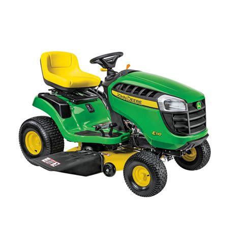 John Deere Home Depot Gift Card - john deere e110 42 in 19 hp gas hydrostatic lawn tractor bg21025 the home depot