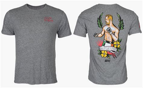 mcgregor tattoo t shirt reebok ufc conor mcgregor tattoo shirt