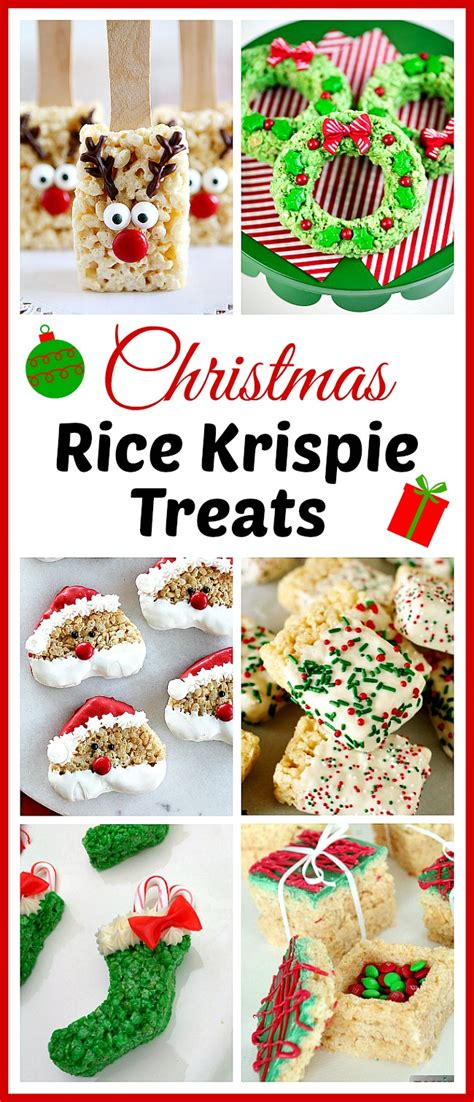 15 homemade christmas rice krispie treats a cultivated nest