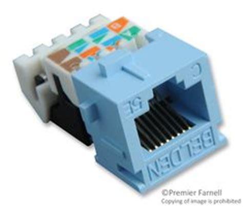 Connector Rj45 Ori Belden Konektor Rj 45 Cat5e Lan Networking ax100653 belden conector modular cat5e rj45