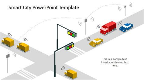 smart powerpoint templates smart city powerpoint template slidemodel